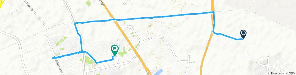 Paseo lento en Apodaca