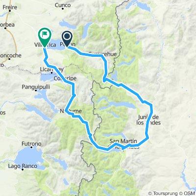 Pucon - San Martin de Los Andes - Villarrica
