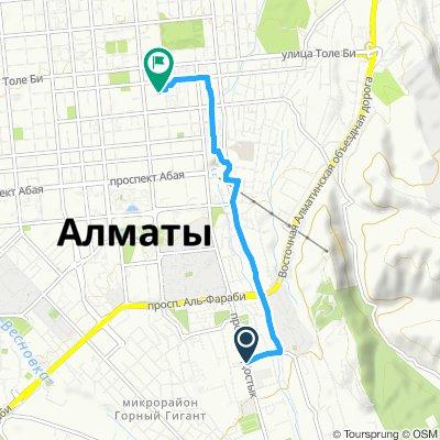 Неторопливый маршрут в Алматы