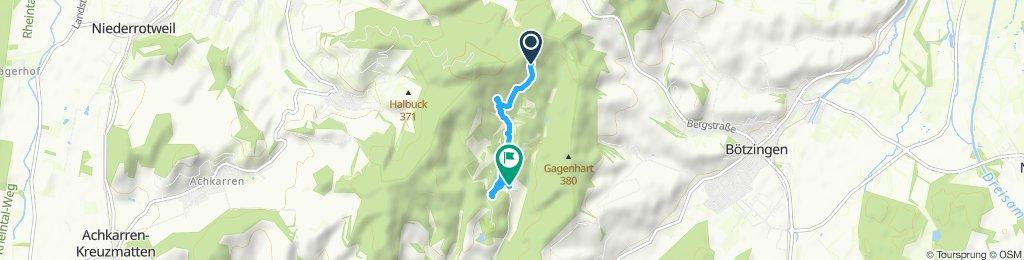 Gemütliche Route in Lindenthal