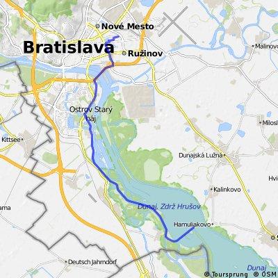 Bratislava -  Cunovo