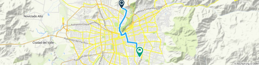 Paseo rápido en Macul