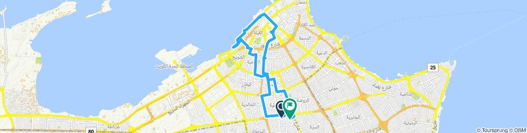 midnight ride in Kuwait