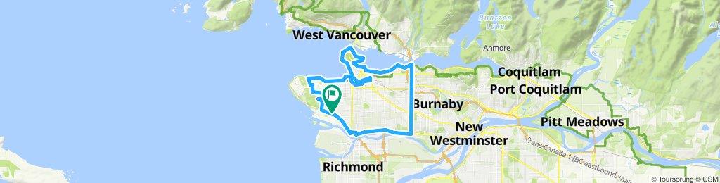 Perimeter of Vancouver