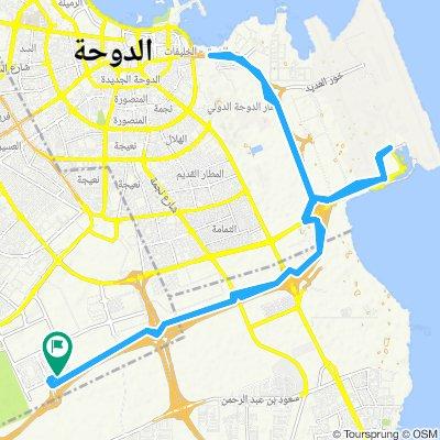 Steady ride in Al Rayyan