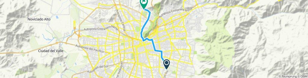 Paseo rápido en Huechuraba