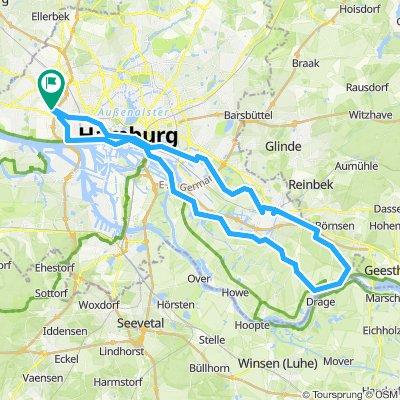 2019-09-22 - Billwerder - Altengamme - Moorfleet