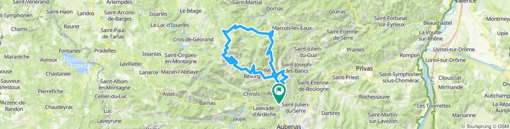 Montagnes et volcans d'Ardèche