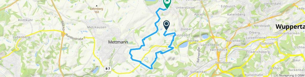 Cross Tour Wülfrath / Grüten / Mettmann