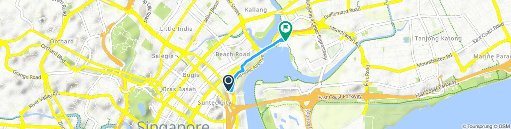 Steady ride in Kallang