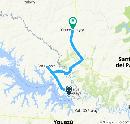 Reserva Yguazú - Cruce Itakyry