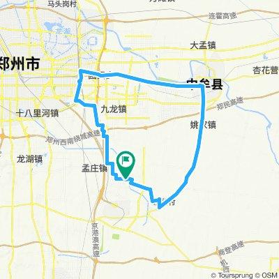 宁静的路线 郑州市