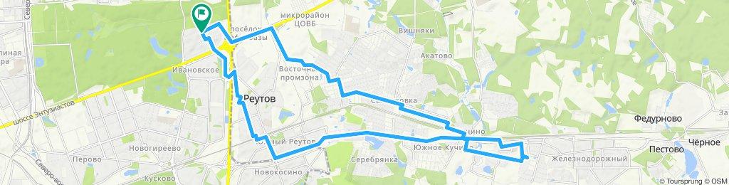 Субботний велозабор заказа из Балашихи (мкрн Ольгино) 16 11 2019
