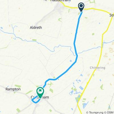 Blistering ride in Cottenham