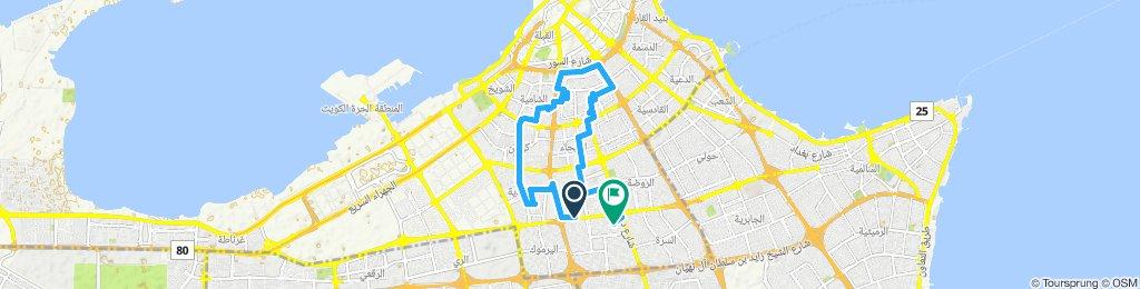 Steady ride in Al Kuwait