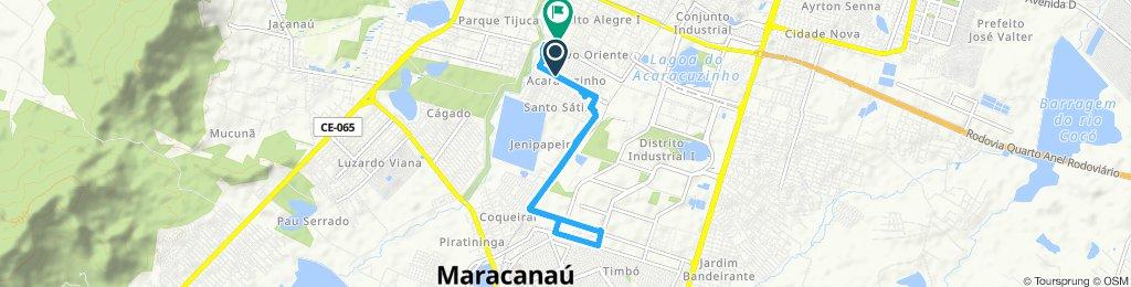 Caminhada lenta CEFet Maracanaú