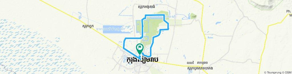 Big around Angkor wat