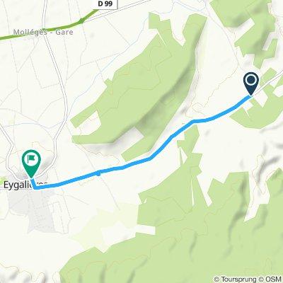 Visite rapide en Eygalières