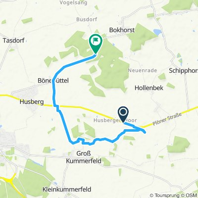 Entspannende Route in Bönebüttel