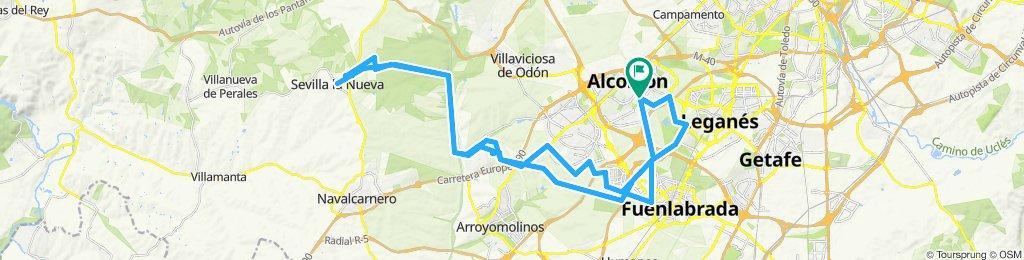 Ruta moderada en Alcorcón