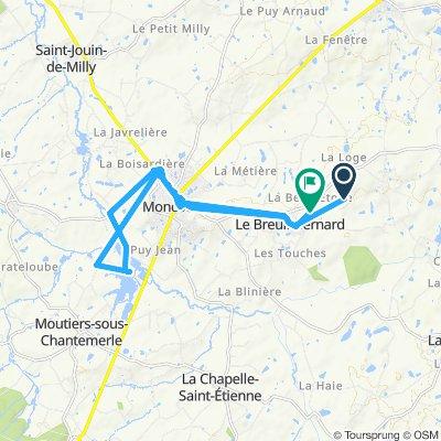 Itinéraire reposant en Le Breuil-Bernard