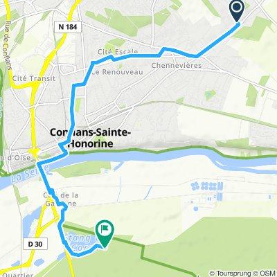Itinéraire facile en Saint-Germain-en-Laye