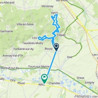 Itinéraire reposant en Athis
