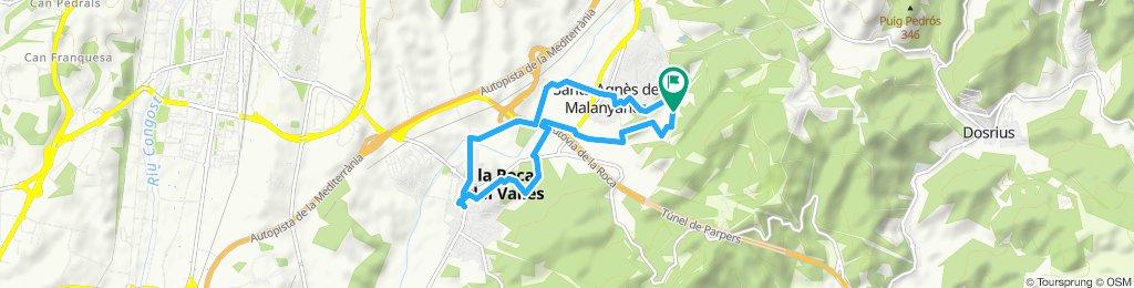 Paseo lento en La Roca del Vallès