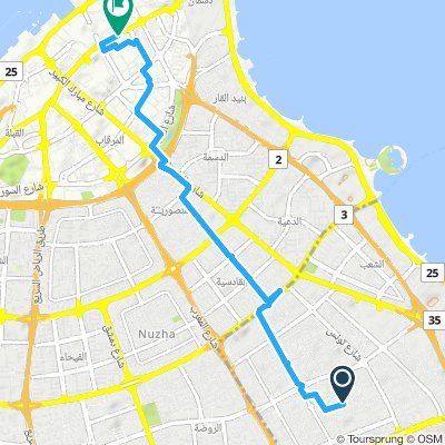Moderate route in Al Kuwayt
