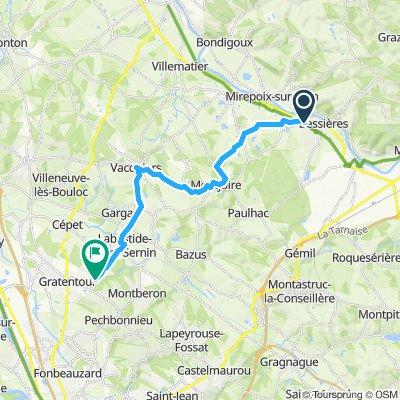 Itinéraire modéré en Pechbonnieu