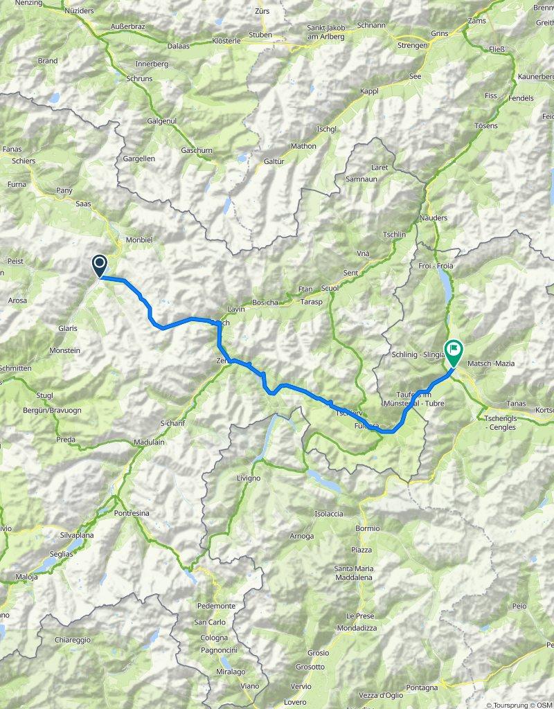 1. Etappe Dolomiten 2020