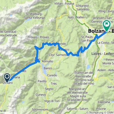 3. Etappe Dolomiten 2021