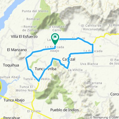 Ruta tranquila en San Vicente