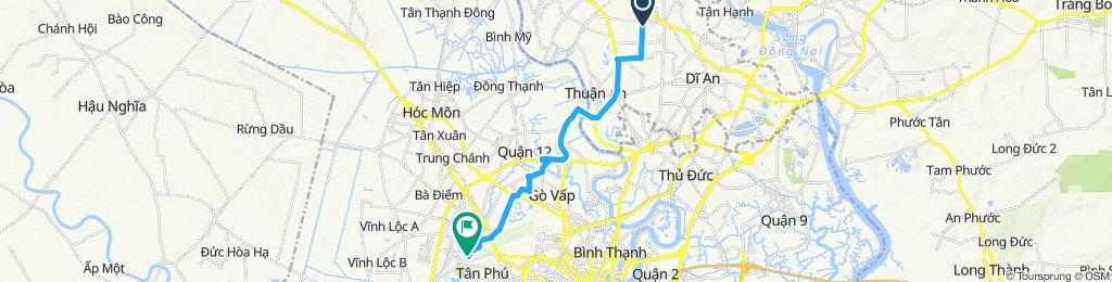 寧靜的路線 胡志明市