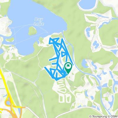 Itinéraire modéré en Bay Lake