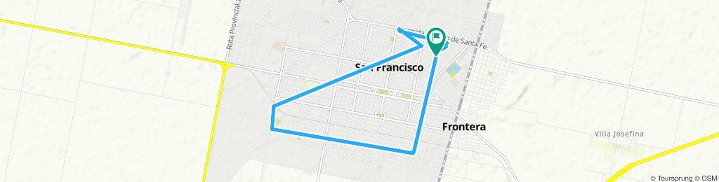 Ruta moderada en San Francisco