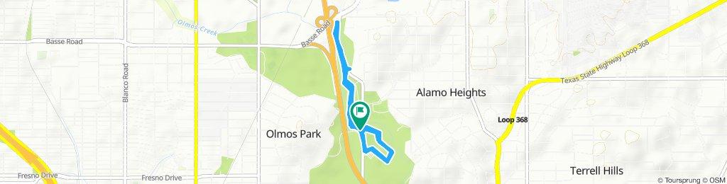 Slow ride in San Antonio