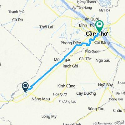 Thanh Pho Vi Thanh nach Can Tho