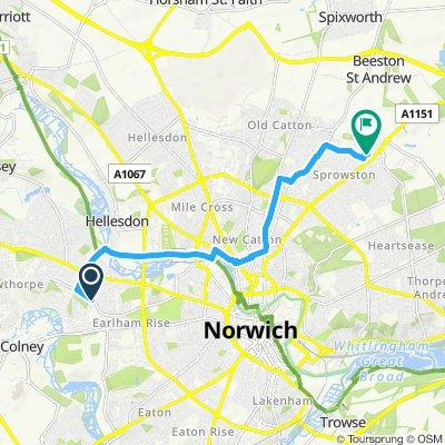Slow ride in Norwich