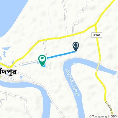 Cracking ride in Chandpur
