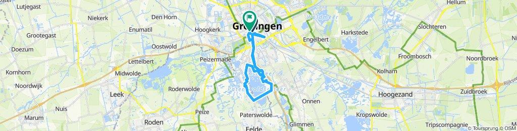 Paseo lento en Groningen