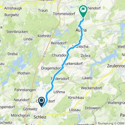 Schnelle Tour in Oettersdorf