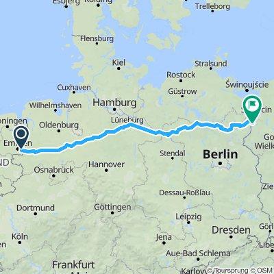 Fietsen naar Warschau deel 1