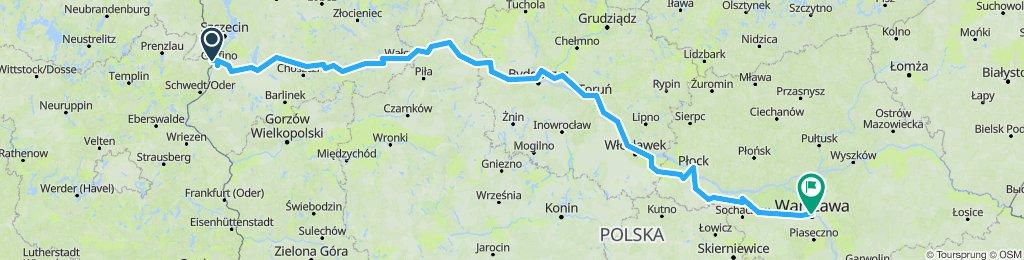 Fietsen naar Warschau deel 2