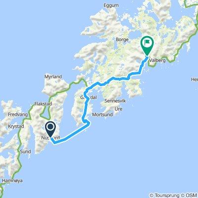Etappe 29-2 Nusfjord - Brusstranda