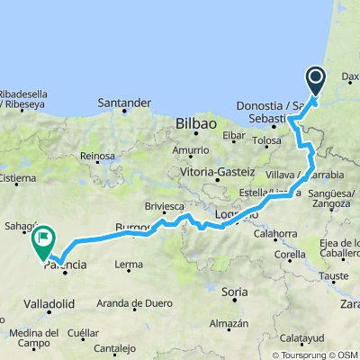 eurovelo 1 frontiere france-espagne