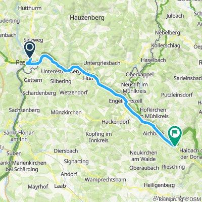 Camping Passau - Terrassencamping Schlögen