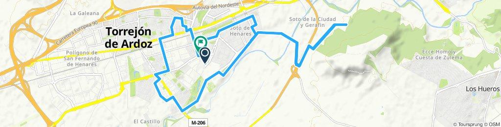 Ruta relajada en Torrejón de Ardoz
