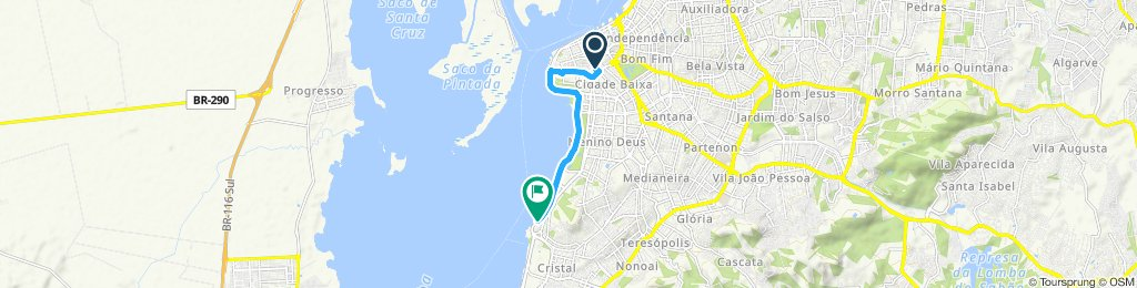 Rota Orla do Guaíba - Porto Alegre/RS