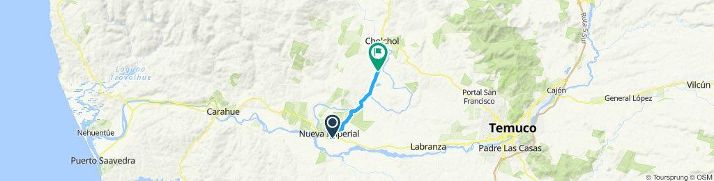 Ruta moderada en Cholchol